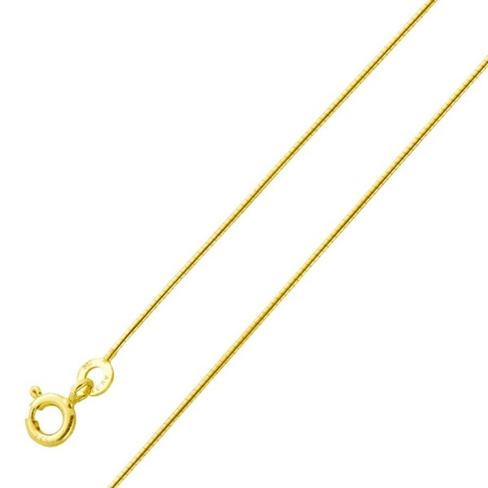 Kette - Halsreif / Spirale Gold 333 0,8mm massiv poliert