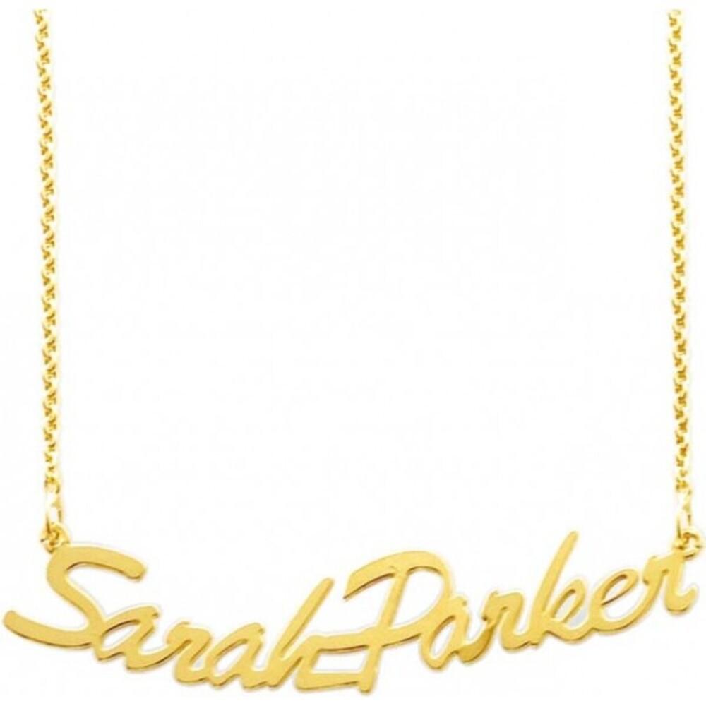 Namenskette Gold 333 Schmuck Gold bis zu 15 Buchstaben