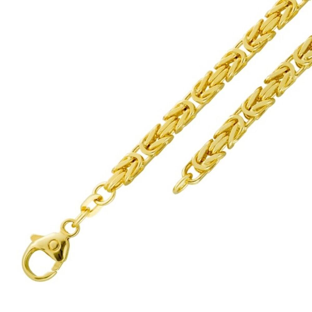 Königskette Armband Gold 585 3,5mm massiv