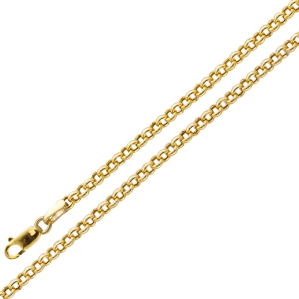 UNO A ERRE Erbskette Gold 375 2,8mm halbmassiv