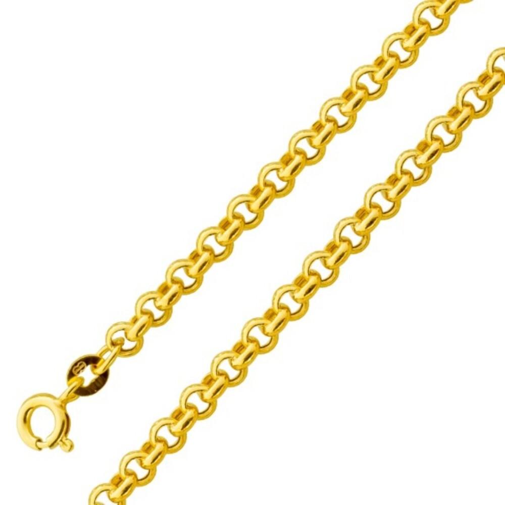 Armband Gold UNO A ERRE Erbskette Gold 375 4mm halbmassiv