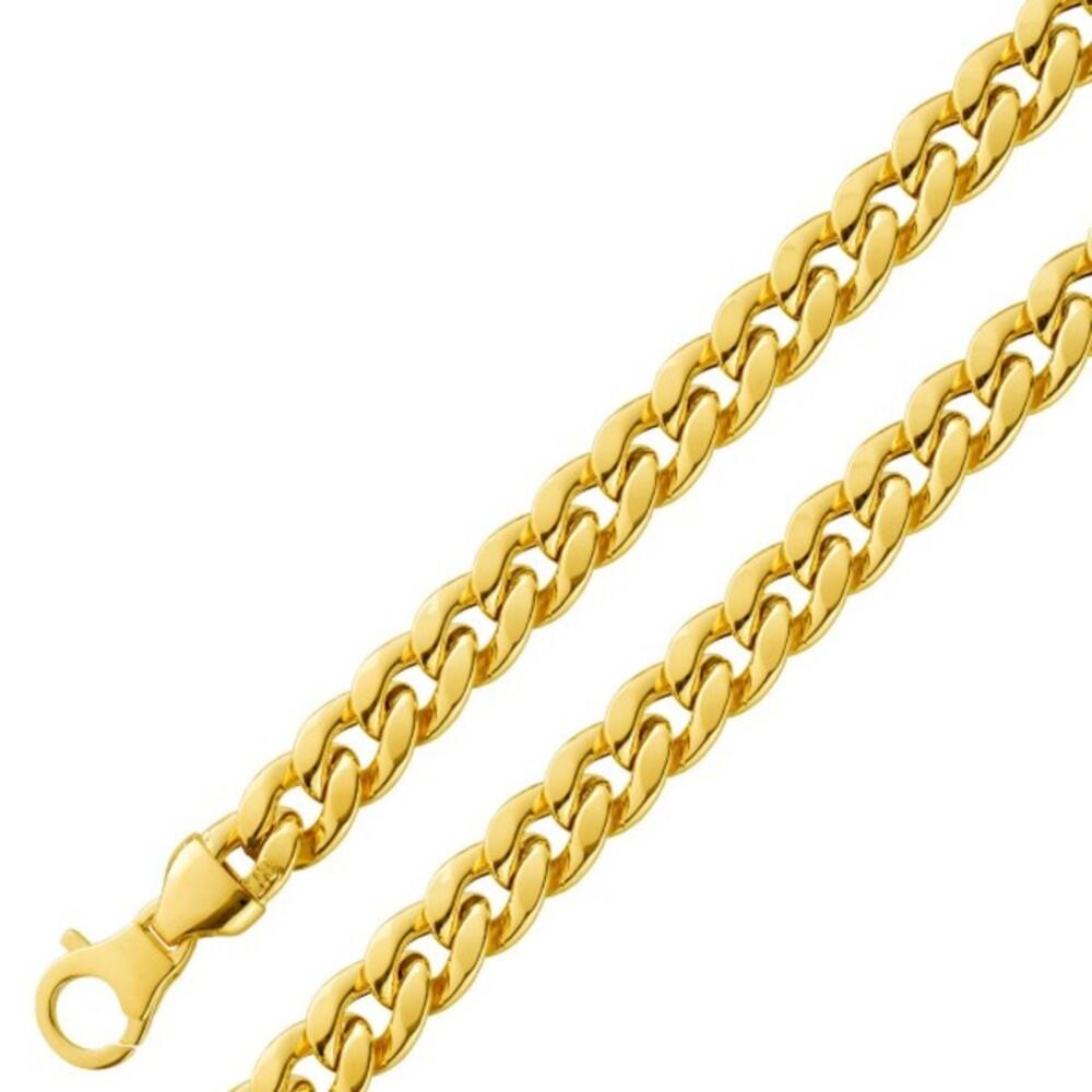 UNOAERRE Rundpanzerkette Gelbgold 750 Goldschmuck 1