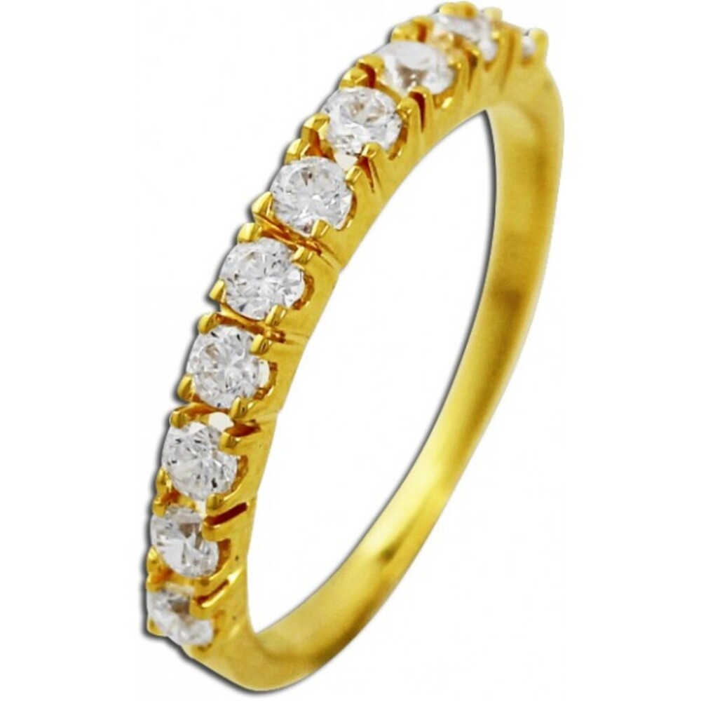 Memoire Ring Gelbgold 333 Zirkoniaring_01
