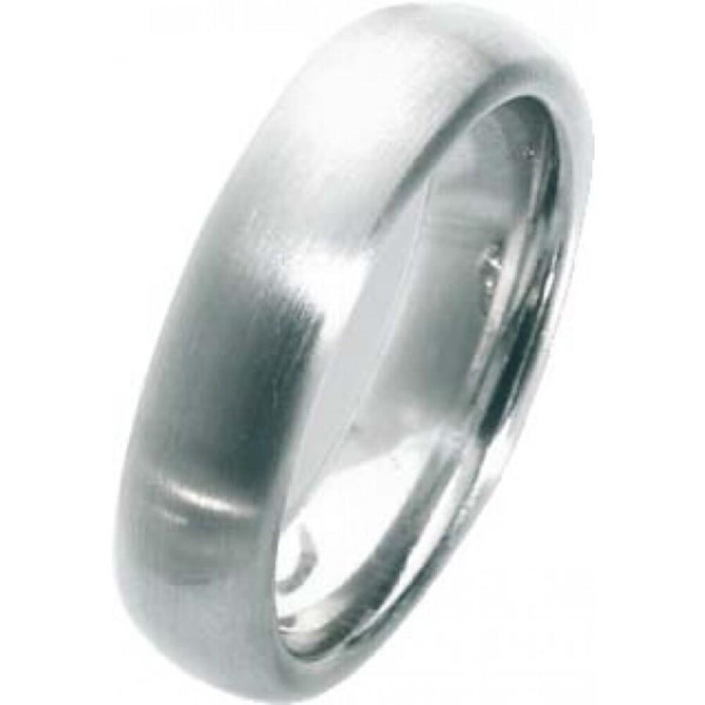 Trauring in Weißgold 750/-, Breite 6,0mm, Stärke 2,5mm, der Ring ist poliert, die Gravur der Trauringe sowie das Etui erhalten Sie kostenlos und bei diesen einfarbigen Trauringen - Eheringen ist auch der kostenlose Auffrischungsservice beinhaltet. Selbstv
