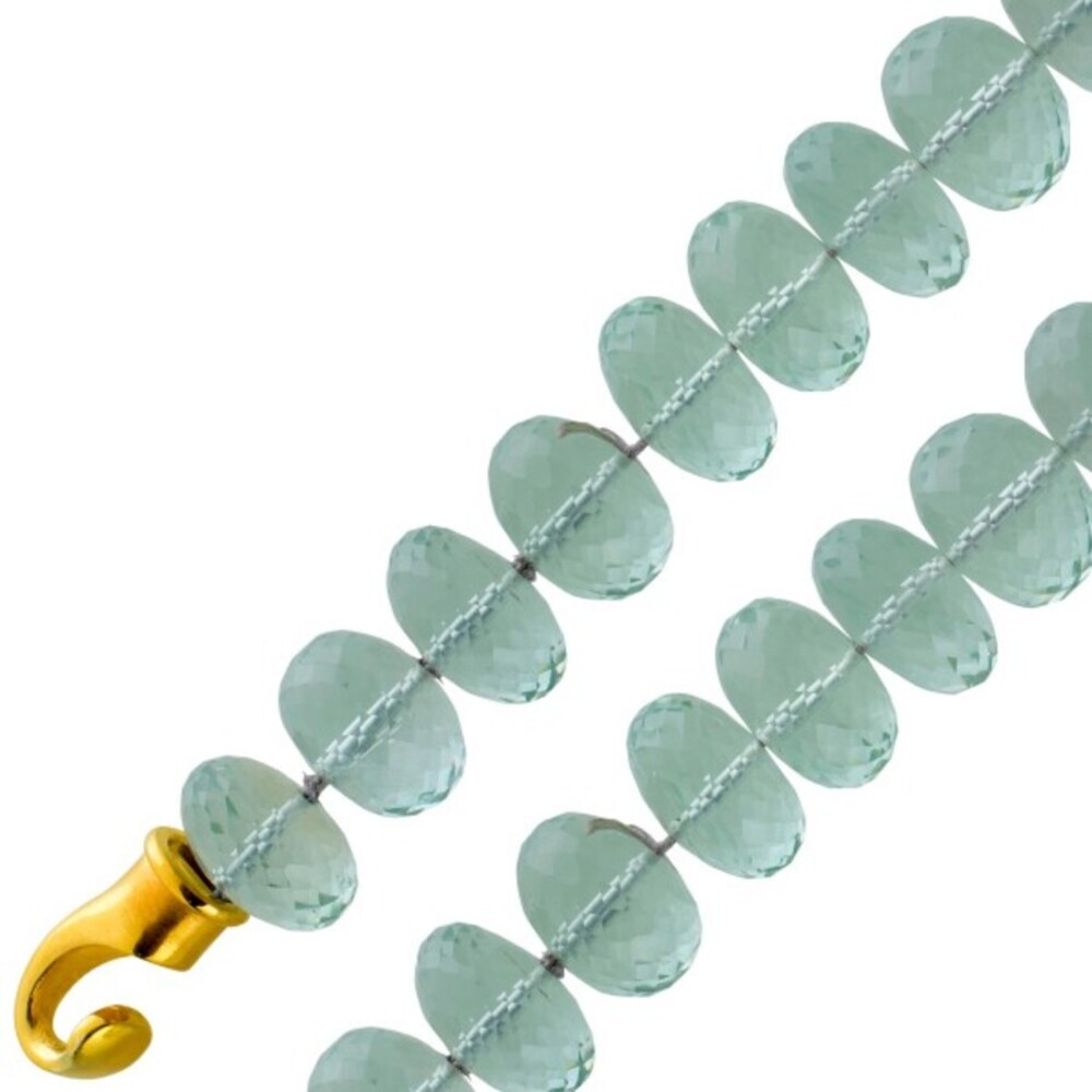 Antikes Edelsteinarmband Silber 925 vergoldet 80er Jahre Top Zustand riesige grüne Amethyst Edelsteine Silber 925 vergoldeter Karabiner 20cm