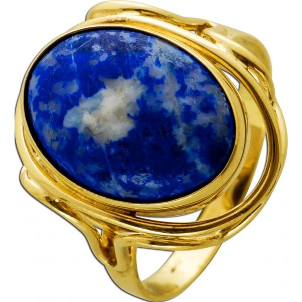 Antiker Saphir Ring um 1920 Gelbgold 375 Saphir Cabochonschliff 9 Karat