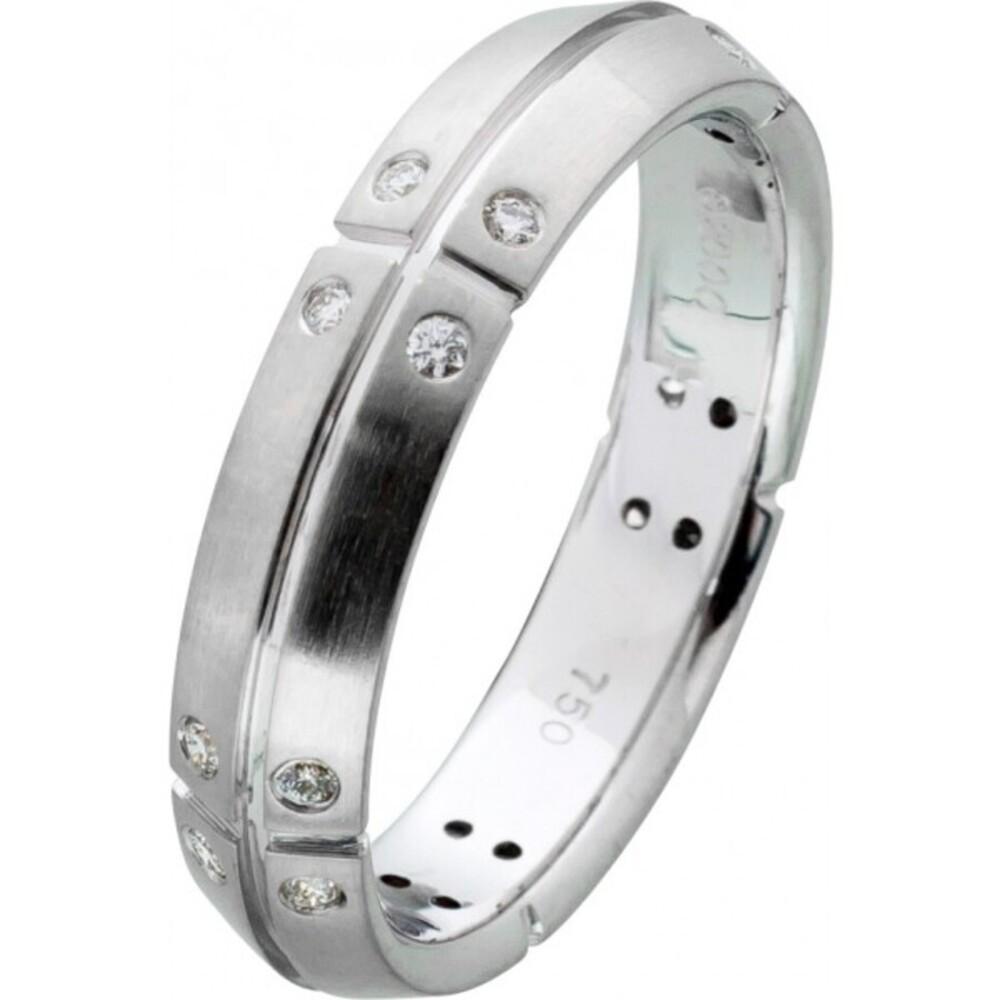 Diamant Ring von Tiffany & Co Weissgold 750/- Brillanten 0,20 Carat TW/VVSI  Damen_01