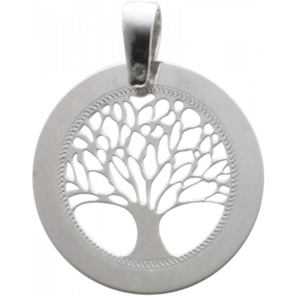 Lebensbaumanhänger Silber Sterlingsilber rhodiniert Schmuckanhänger lebensbaum 1