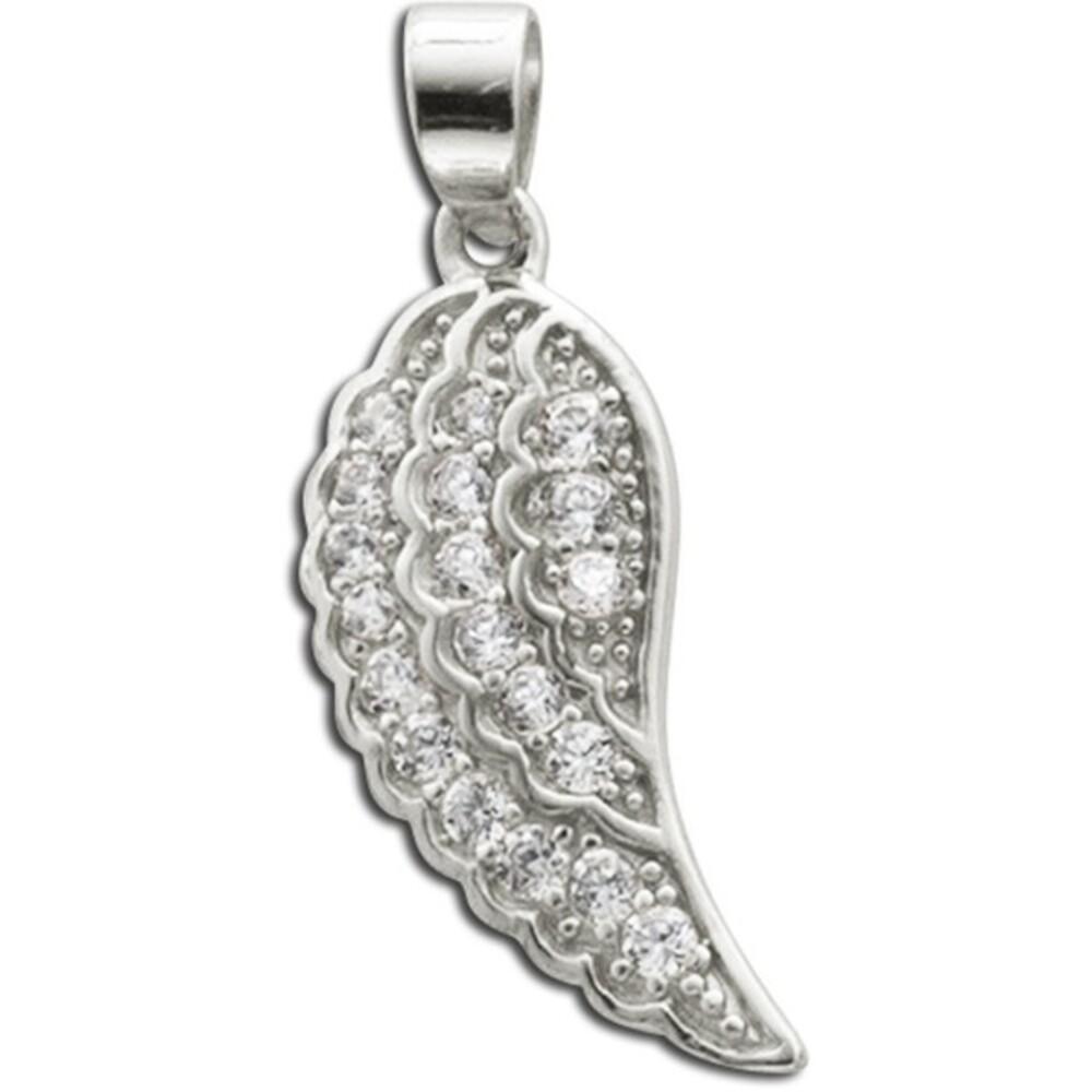 Flügelanhänger Sterling Silber 925 Zirkonia 1