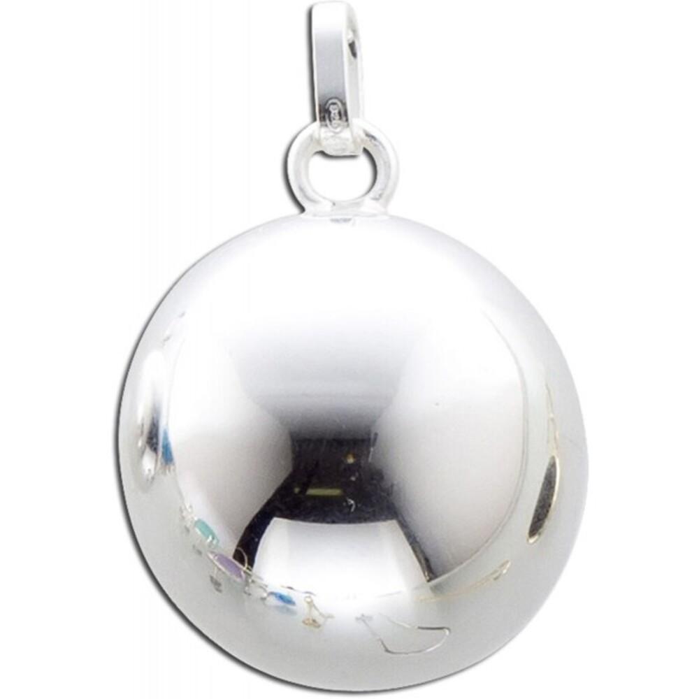 Klangkugel Anhänger Sterling Silber 925  Damenschmuck 1