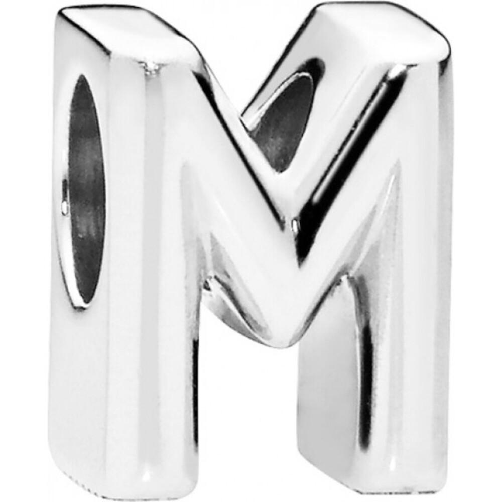 PANDORA Charms 797467 Alphabet Buchstabe M Silber 925