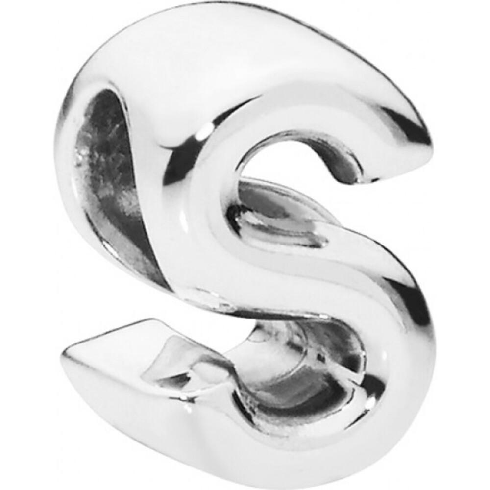 PANDORA Charms 797473 Alphabet Buchstabe S Silber 925