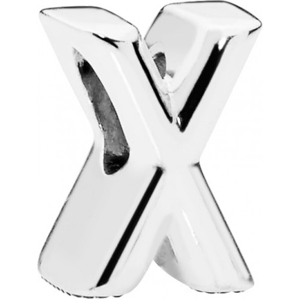 PANDORA Charms 797478 Alphabet Buchstabe X Silber 925