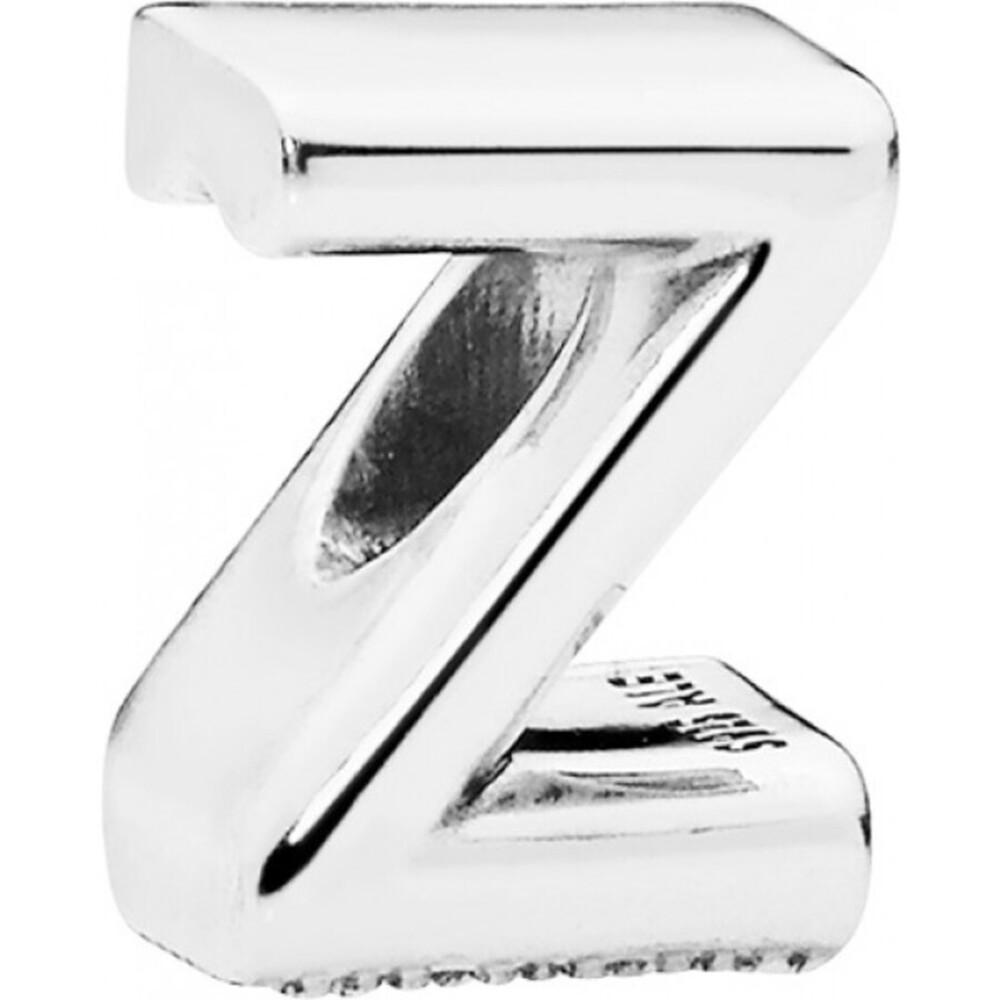 PANDORA Charms 797480 Alphabet Buchstabe Z Silber 925