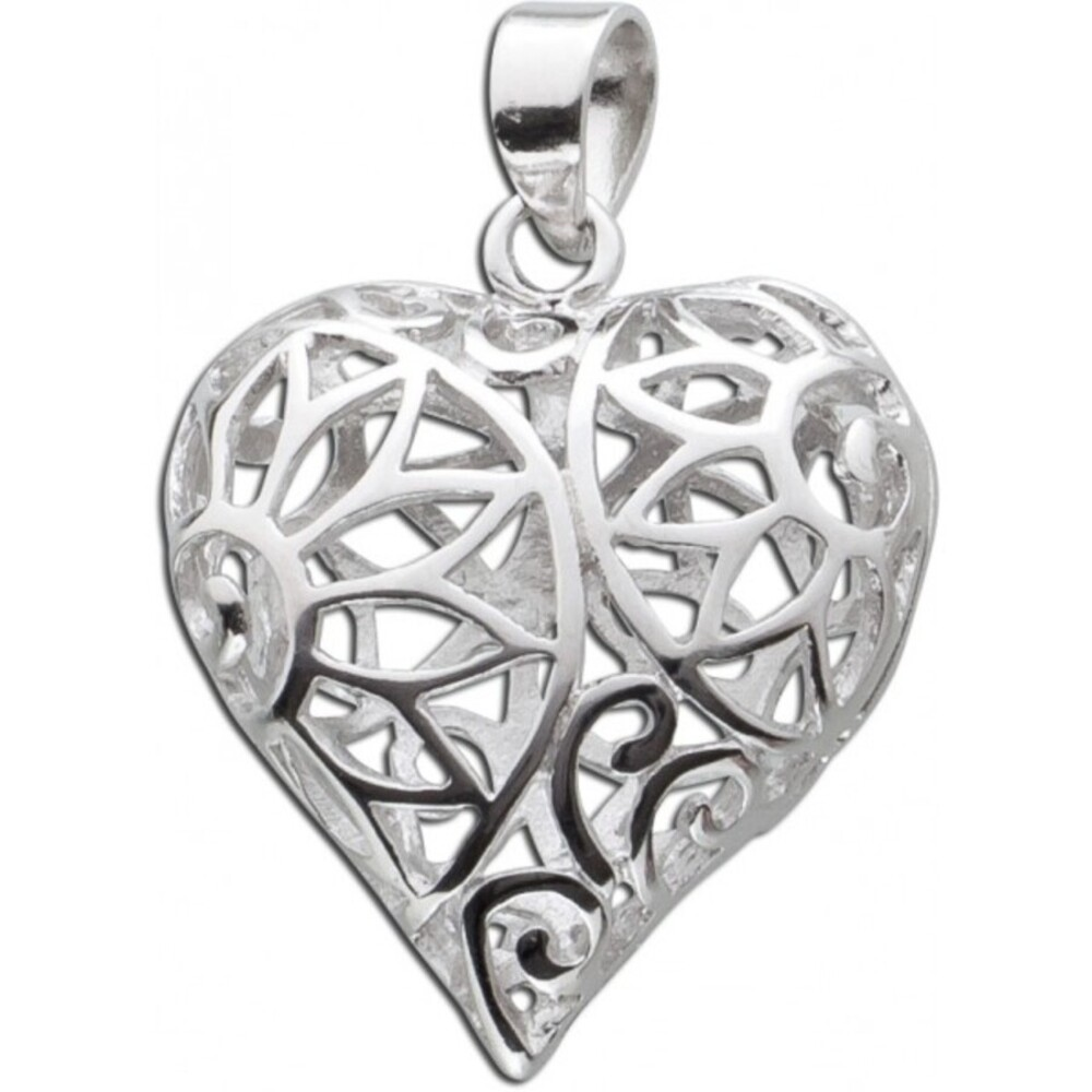 Herz Anhänger Silber 925 Herzanhänger Silberanhänger_03