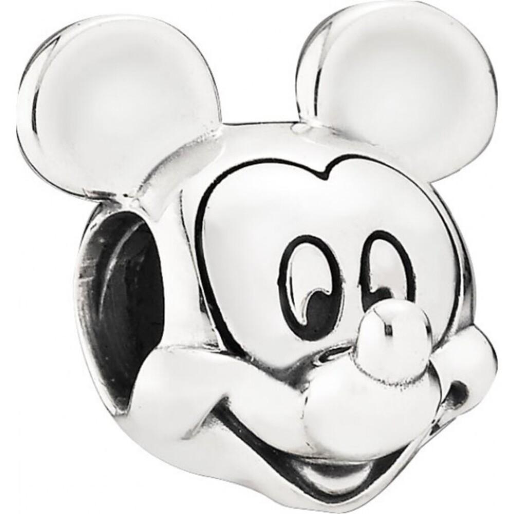 PANDORA Disney Charm 791586 Micky Portrait Silber 925 Micky Maus