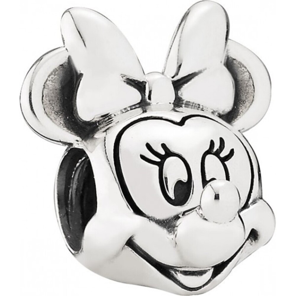 PANDORA Disney Charm 791587 Minnie Portrait Silber 925 Minnie Maus