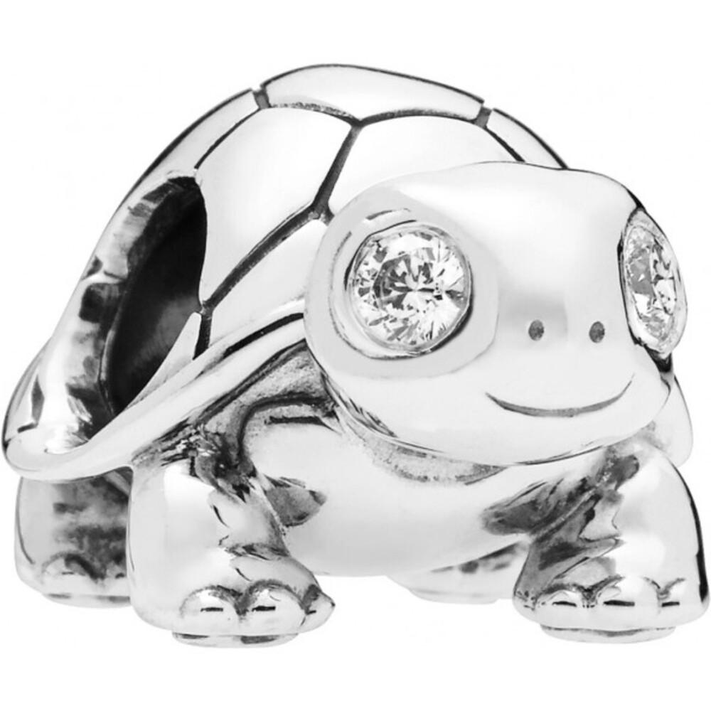 PANDORA Charm 797878CZ Bright Eyed Turtle Schildkröte