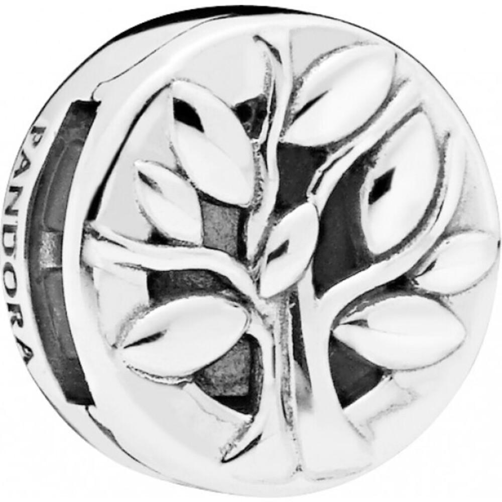PANDORA REFLEXIONS Clip Charm 797779 PANDORA Tree of Life Lebensbaum Sterling Silber