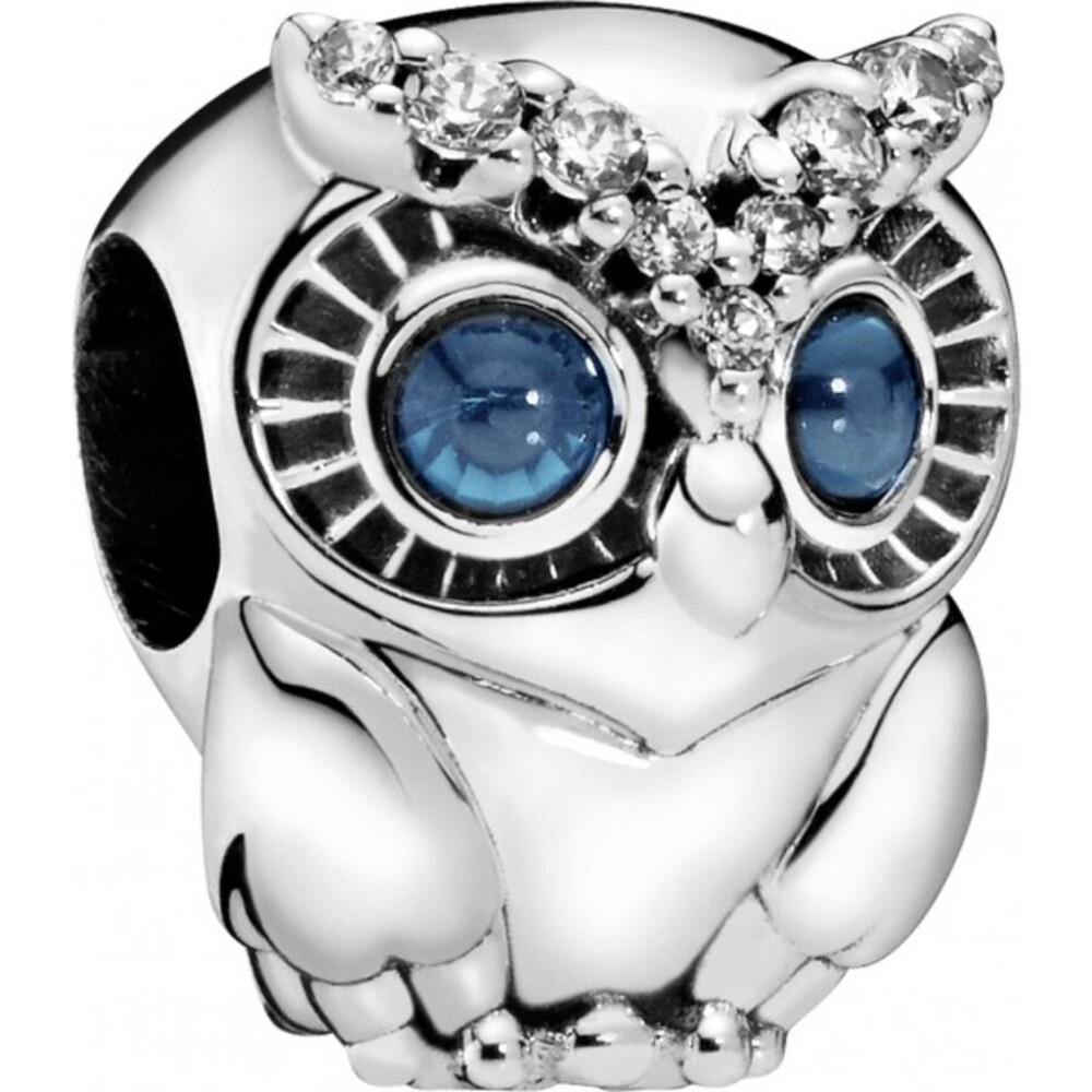 PANDORA Charm 798397NBCB Sparkling Owl