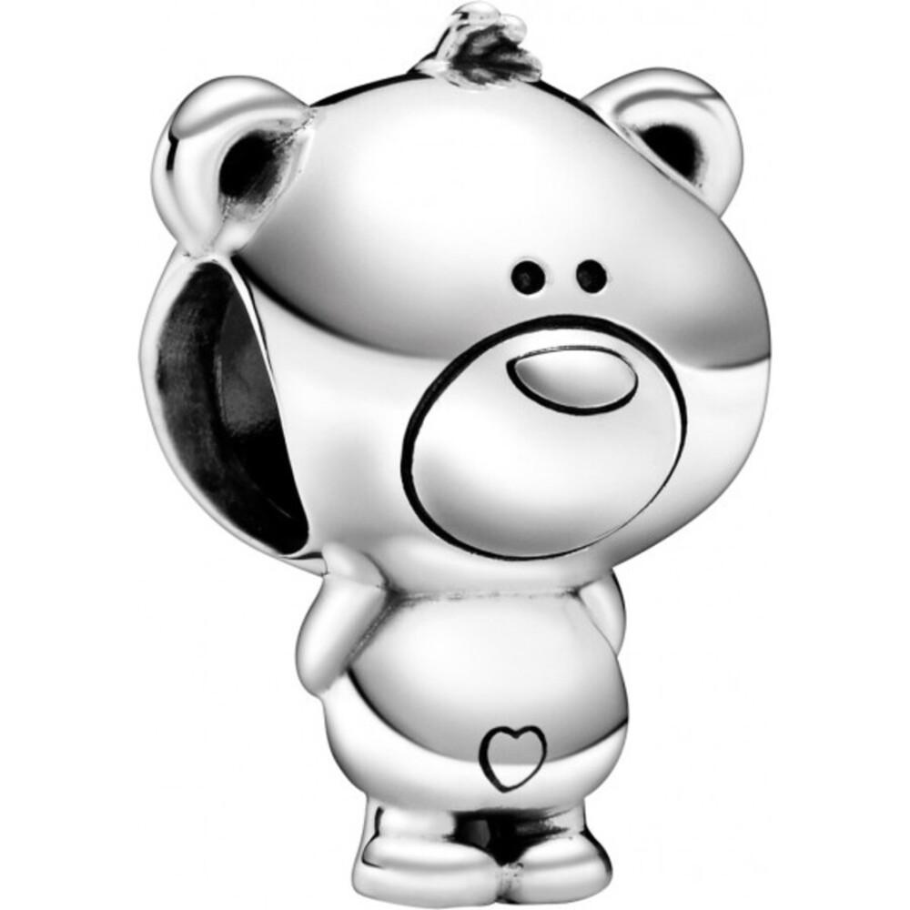 Pandora Charm 798695C00 Theo Bear Bär Silber 925