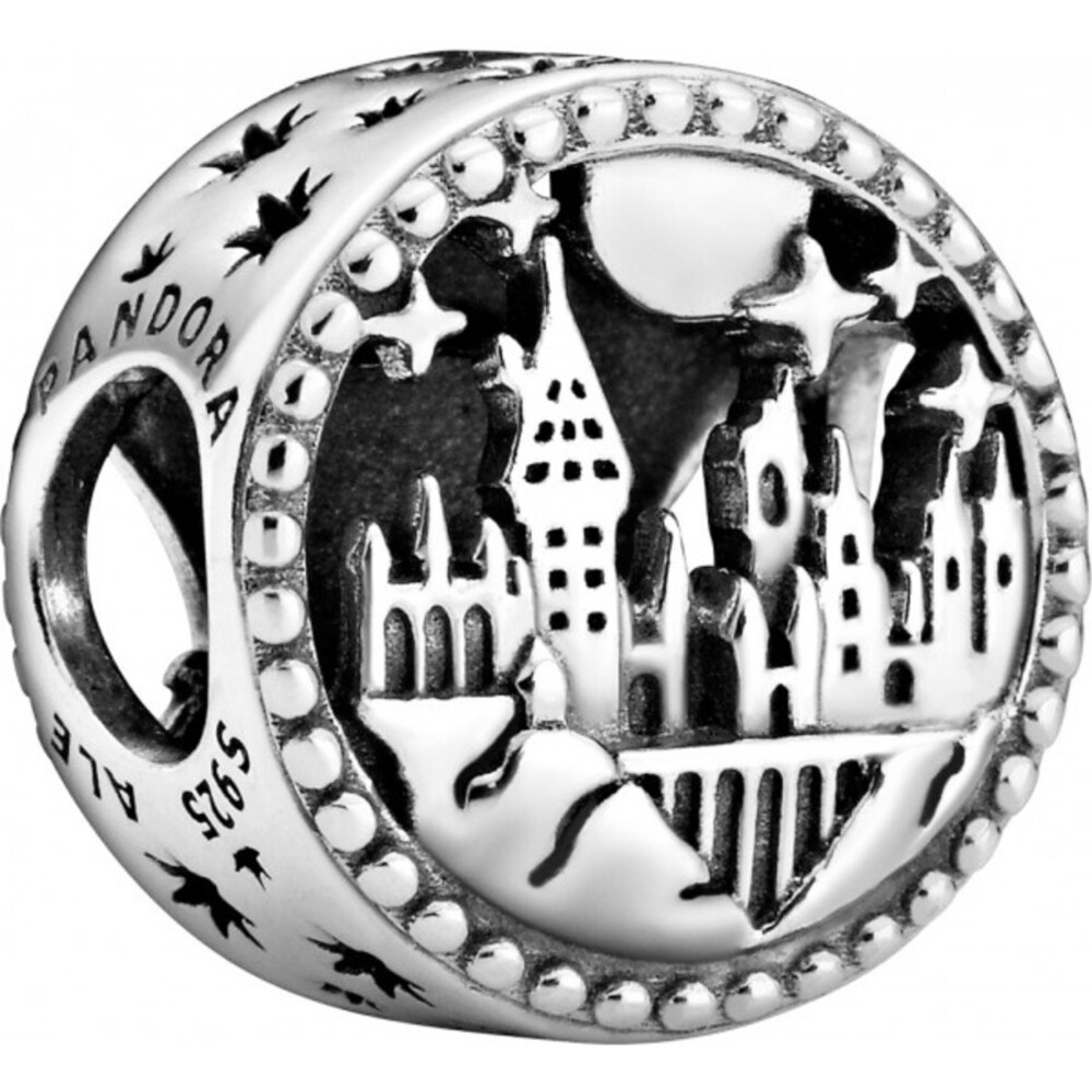 Pandora Harry Potter Charm 798622C00 Hogwarts School of Witchcraft and Wizardry Silber 925