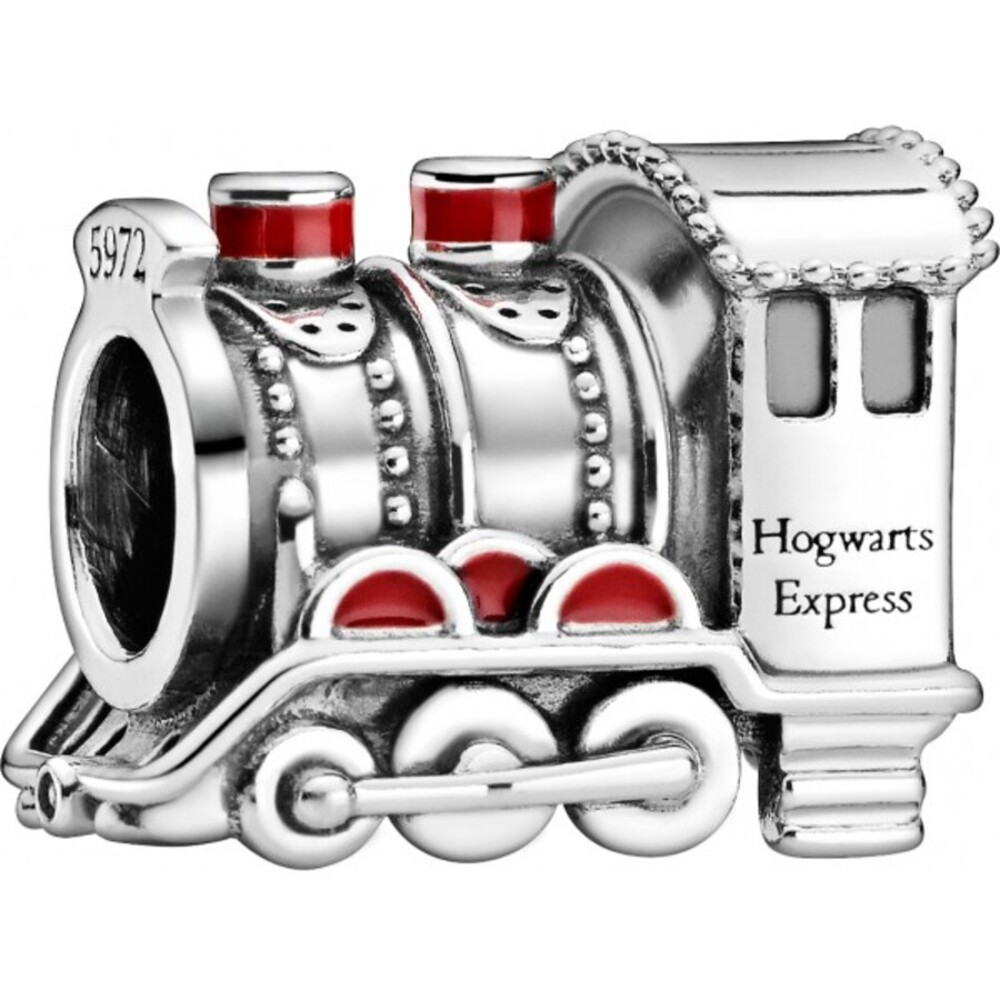Pandora Harry Potter Charm798624C01 Hogwarts Express Silber 925 Rot Emaille