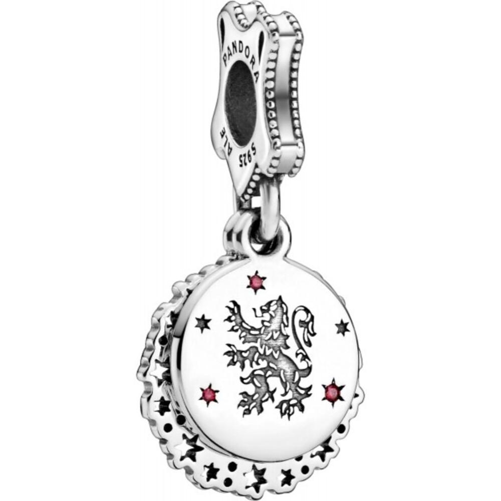 Pandora Harry Potter Charm Anhänger 798627C01 Gryffindor Silber 925 Rot Zirkonia