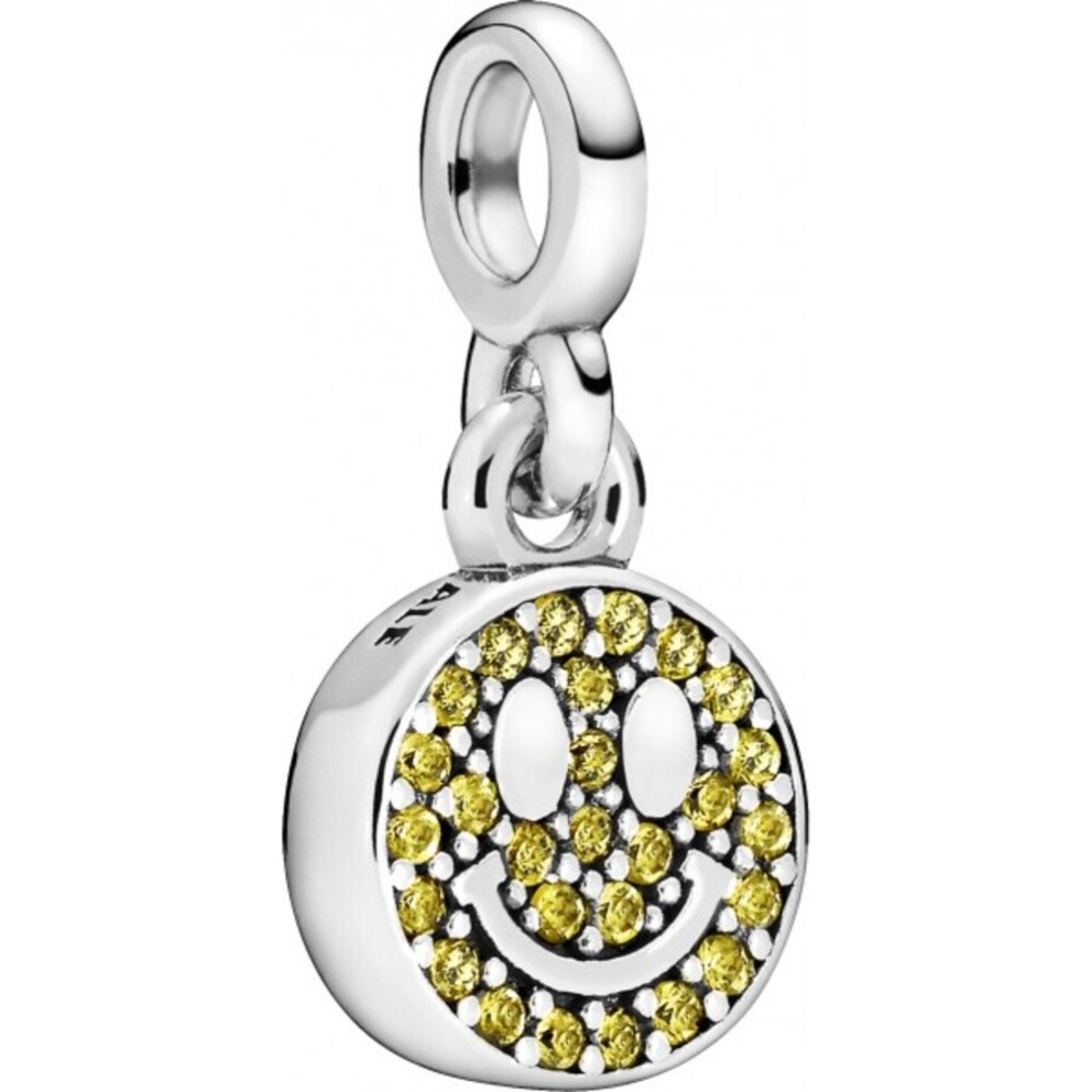 Pandora Me Charm Anhänger 798395NLY My Smile Silber 925 Gelb Kristall