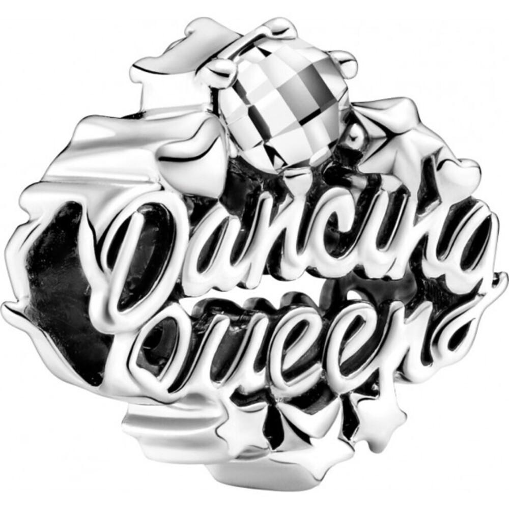 Pandora Charm 799524C01 Openwork Dancing Queen Sterling Silber 925 clear cubic zirconia