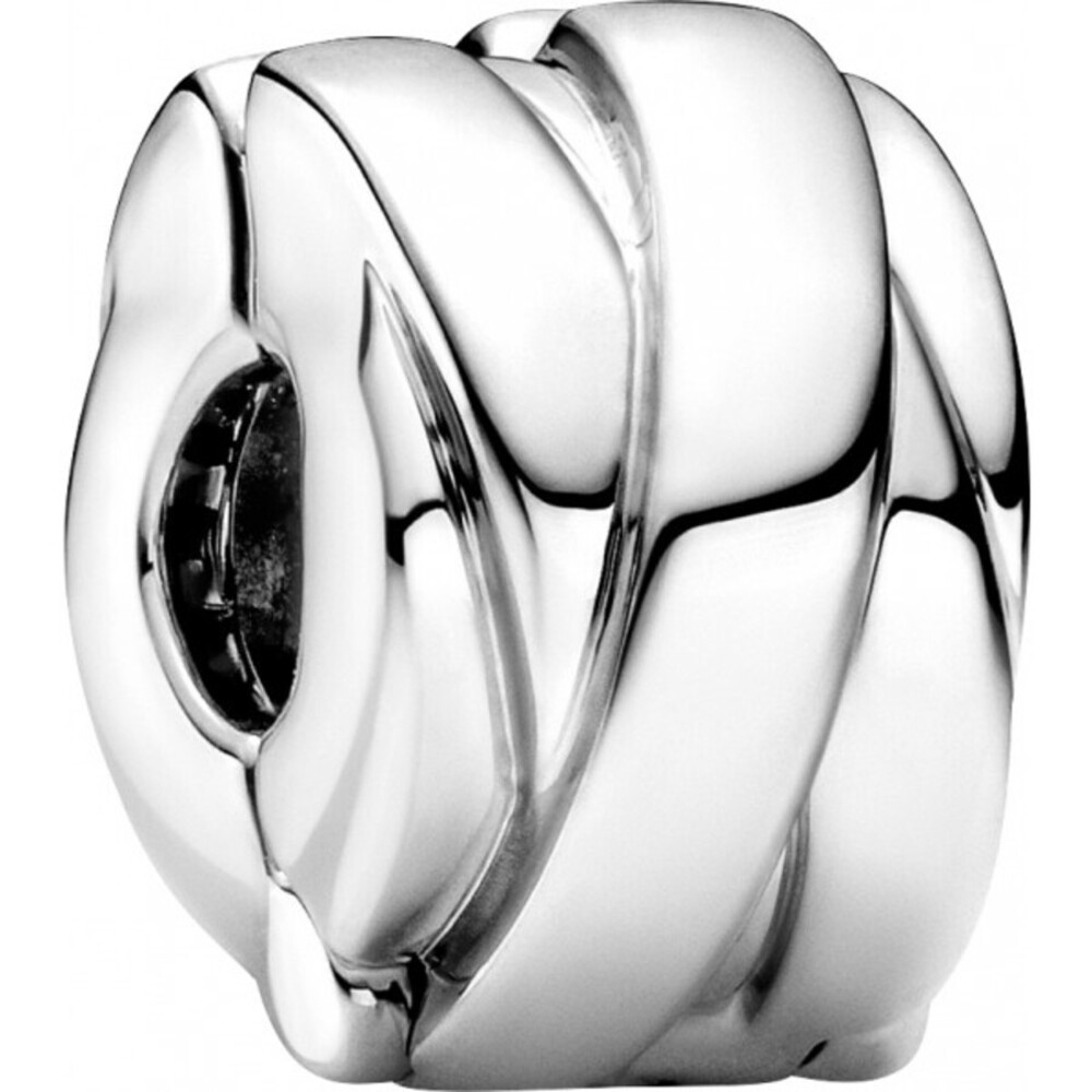 Pandora Clip Charm 799502C00 Polished Ribbons Clip Sterling Silber 925