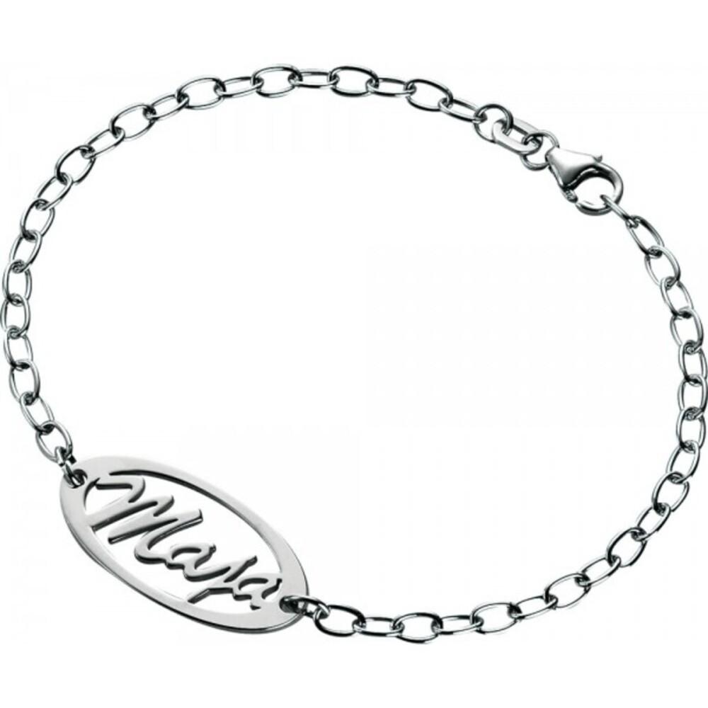 Namensarmband Silber Sterlingsilber 925/- Armband mit Namen