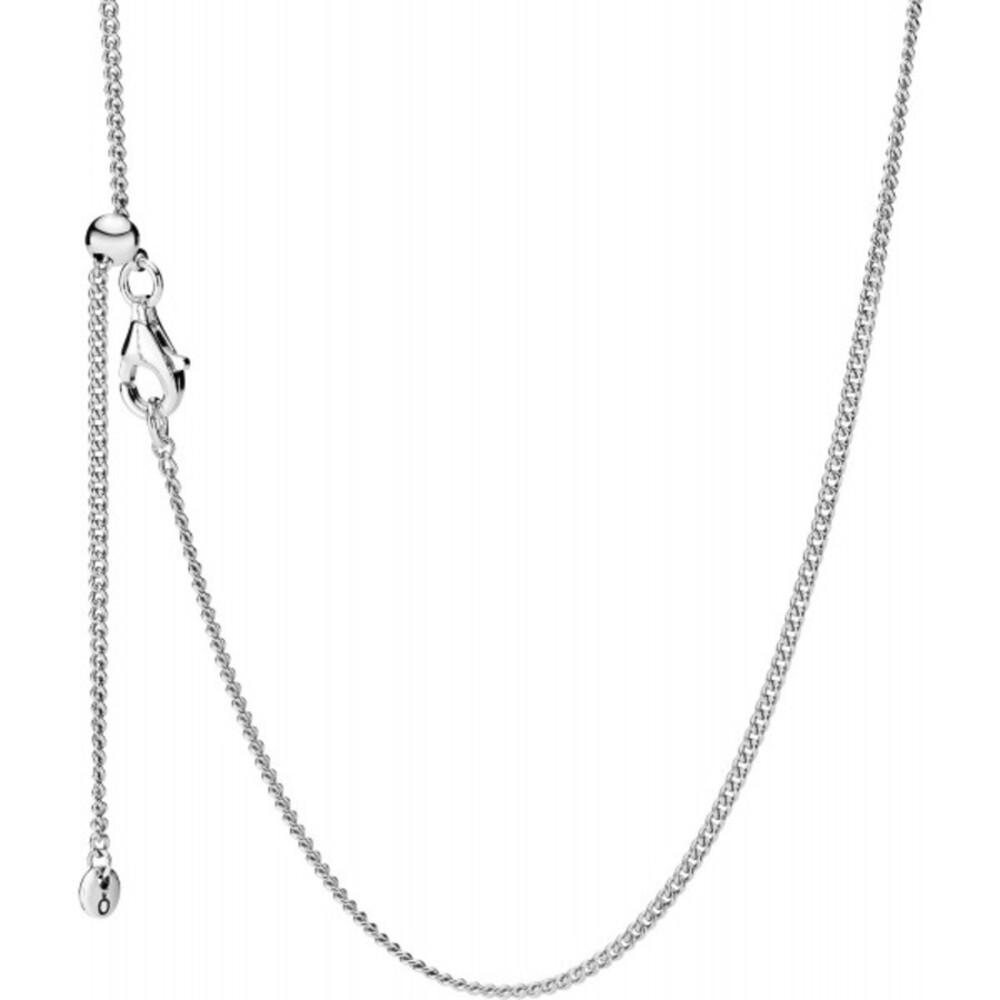 PANDORA Halskette 398283-60 Curb Chain Sterling Silber