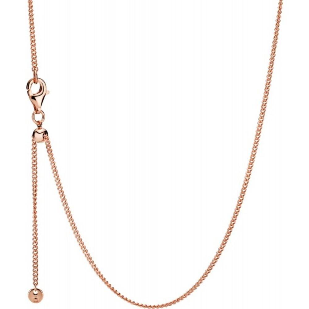 PANDORA Halskette 388283-60 Curb Chain ROSE Metall