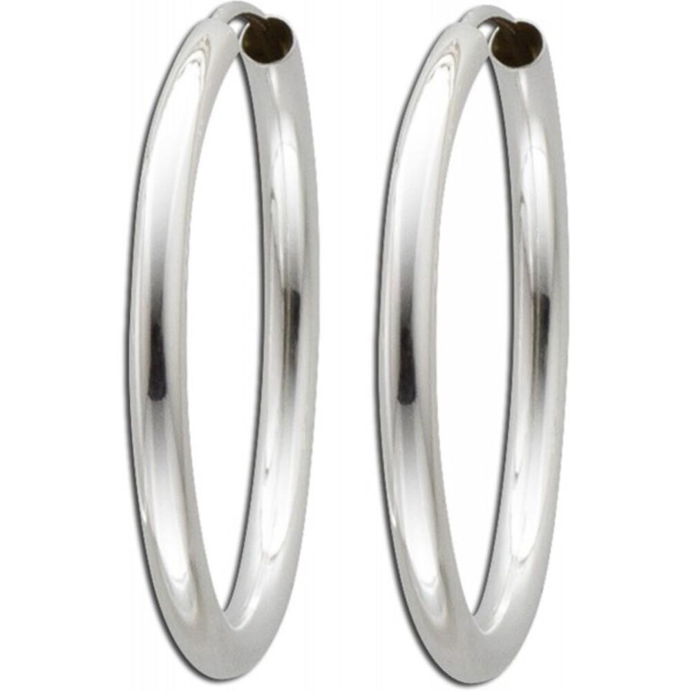 Ohrringe - Creolen in Silber Sterlingsilber 925/- -267310