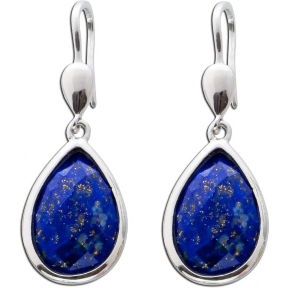 Ohrringe - Ohrhänger blauer Lapislazuli Sterling Silber 925