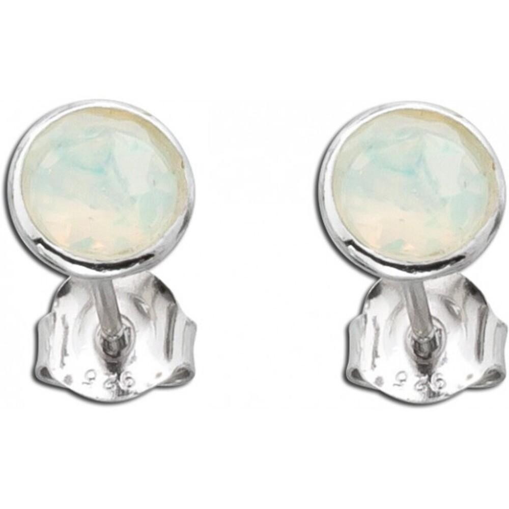 Opal Ohrstecker Ohrringe Silber 925  äthiopisch_01