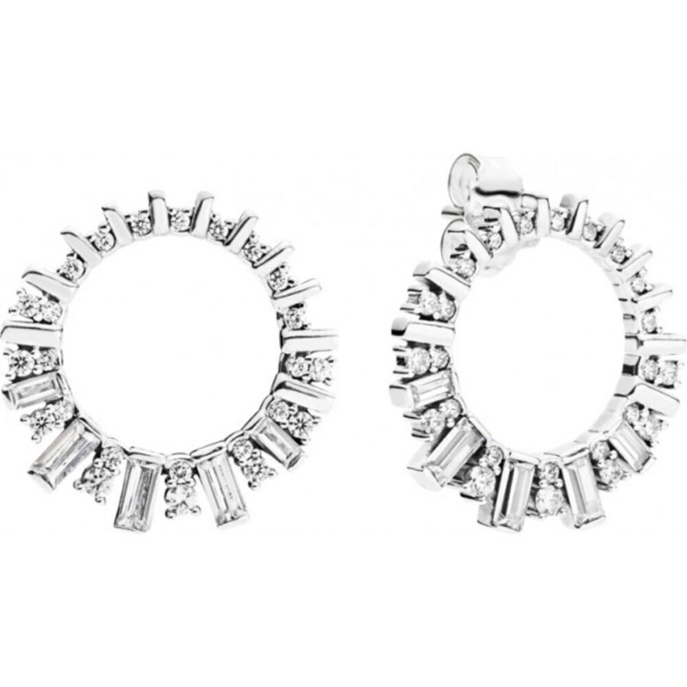 PANDORA Ohrstecker 297545CZ Glacial Beauty Sterling Silber 925