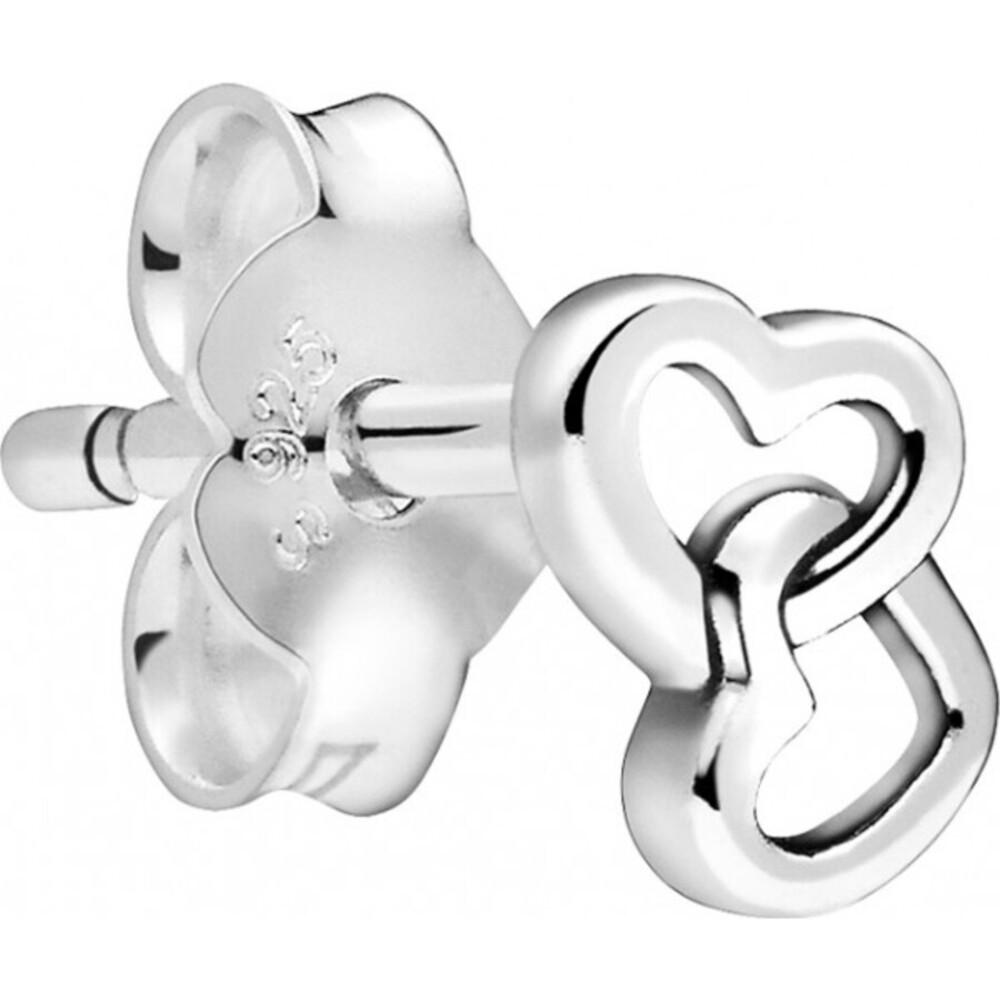 Pandora Me Einzelner Ohrstecker 298543C00 My Loves Silber 925