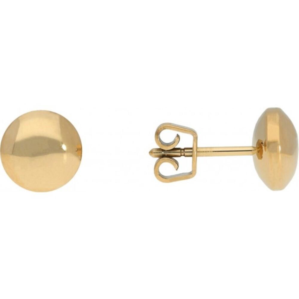Titania Ohrstecker 33872 Titan IP Vergoldet Poliert