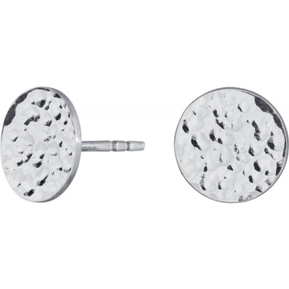 Nordahl Joanli Nor Ohrstecker 325 674 Two-sided52 Silber 925 Rhodiniert 10mm Durchmesser