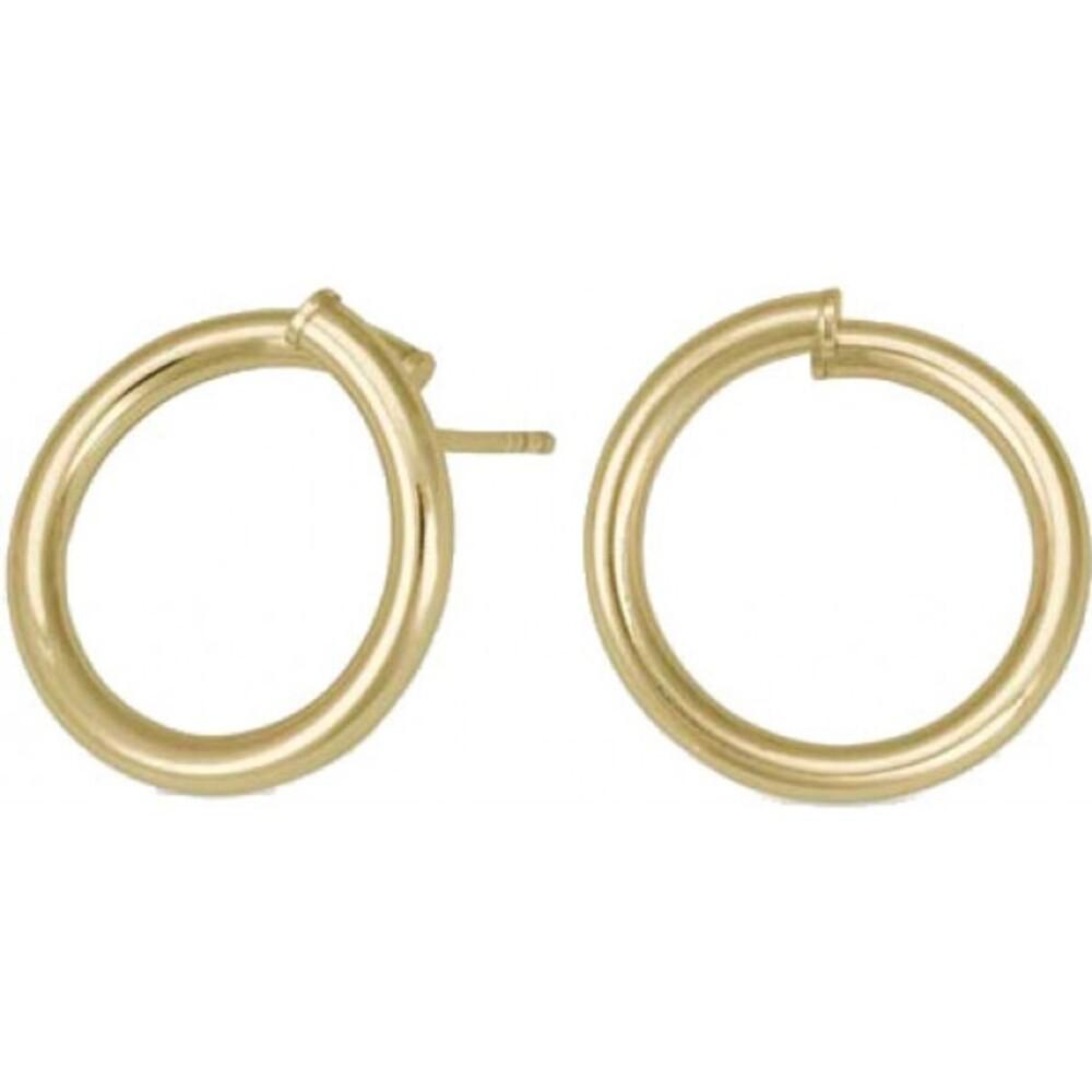 Nordahl Joanli Nor Creolen 325 595-3 Twisted52 Silber 925 Vergoldet 20mm Durchmesser