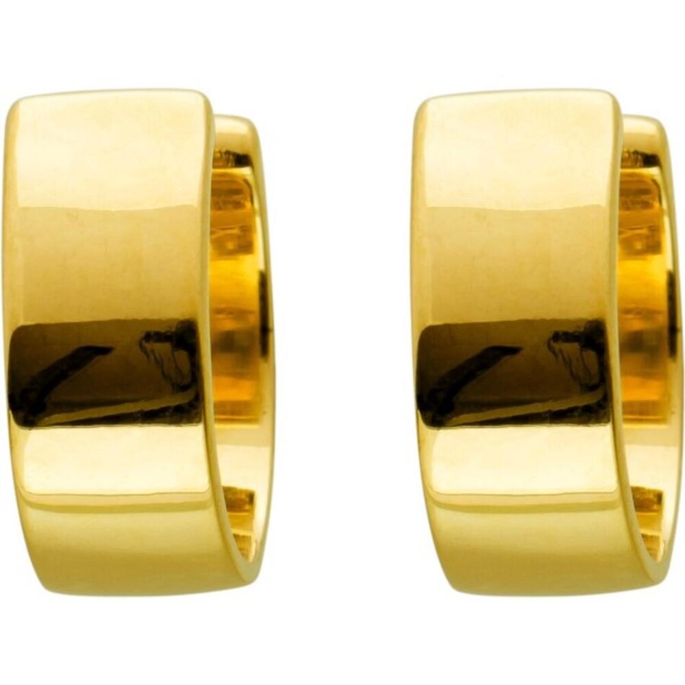 T-Y Ear Cuffs Ohrrand Creolen Toyo Yamamoto Ohrklemmen Edelstahl vergoldet poliert