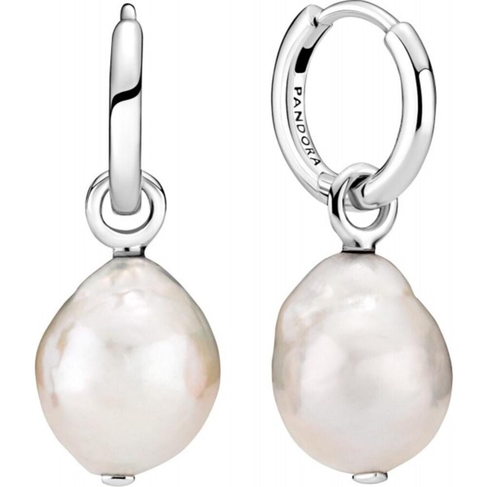 Pandora Perlen Ohrring Silber 925 Pandora Moments Collection Sommer 2021 299426C01