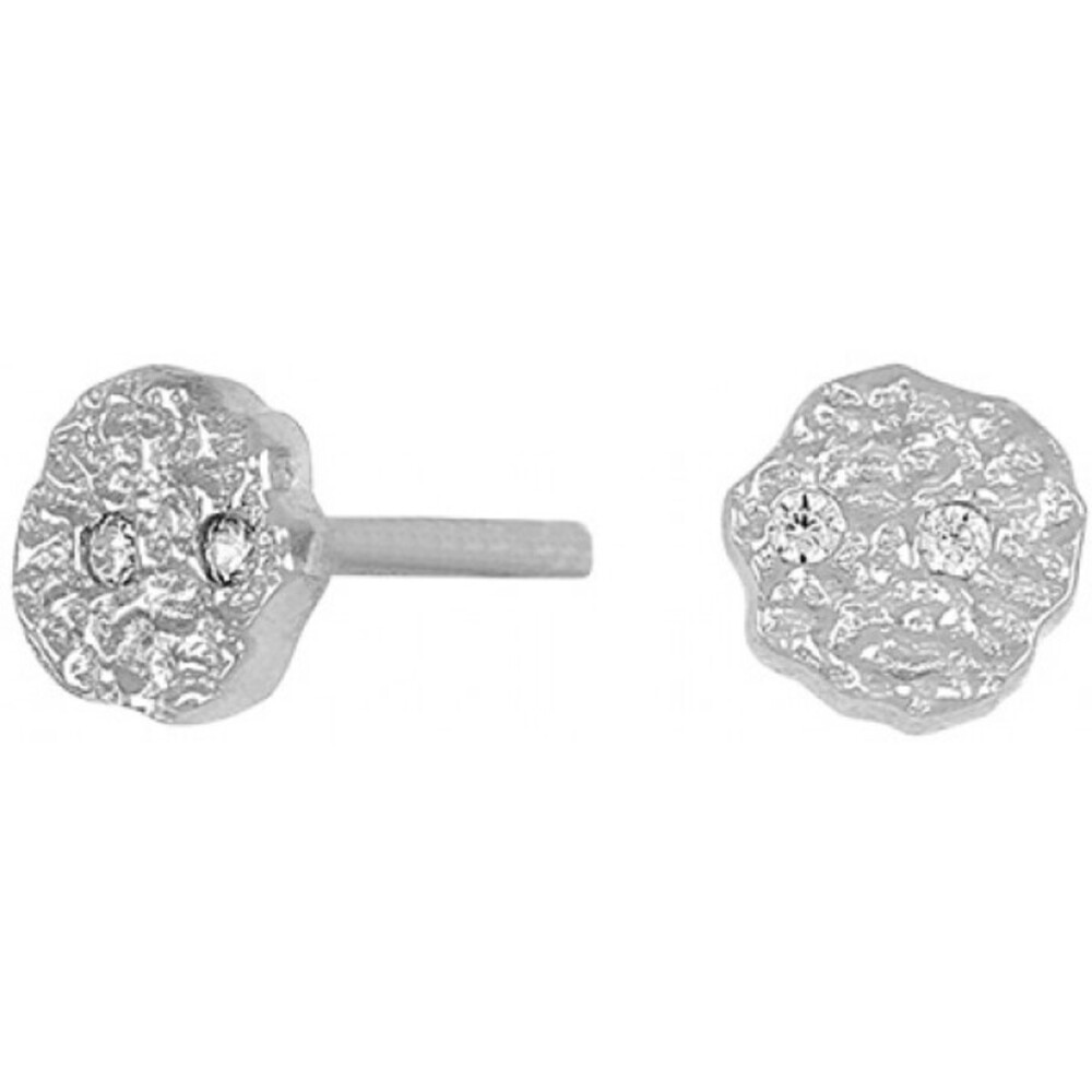 Joanli Nor Ohrstecker 345 258 Gwennor Sterling Silber 925 4mm Durchmesser Zirkonia