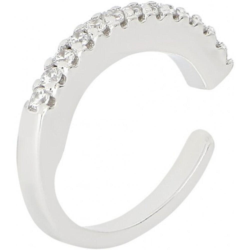 Joanli Nor Ohrring 345 308 Helganor Silber 925 Fake Piercing Helix Schmuck ohne Nadel Einzelner Ohrring