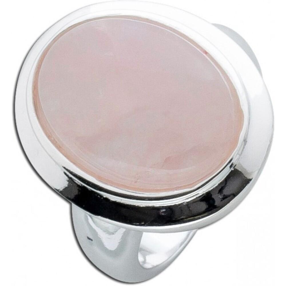 Rosenquarzring Silber 925 rosa Edelstein_01