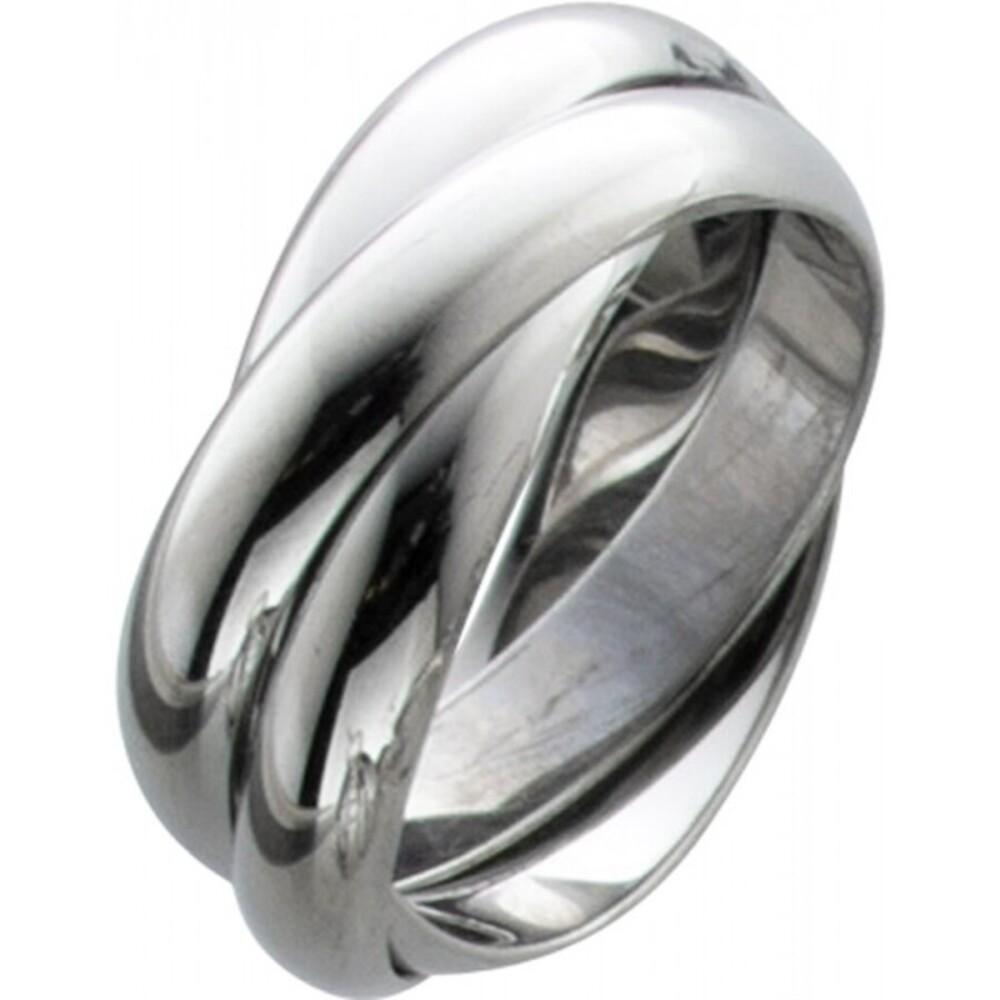 T-Y Toyo Yamamoto Ring Edelstahl poliert