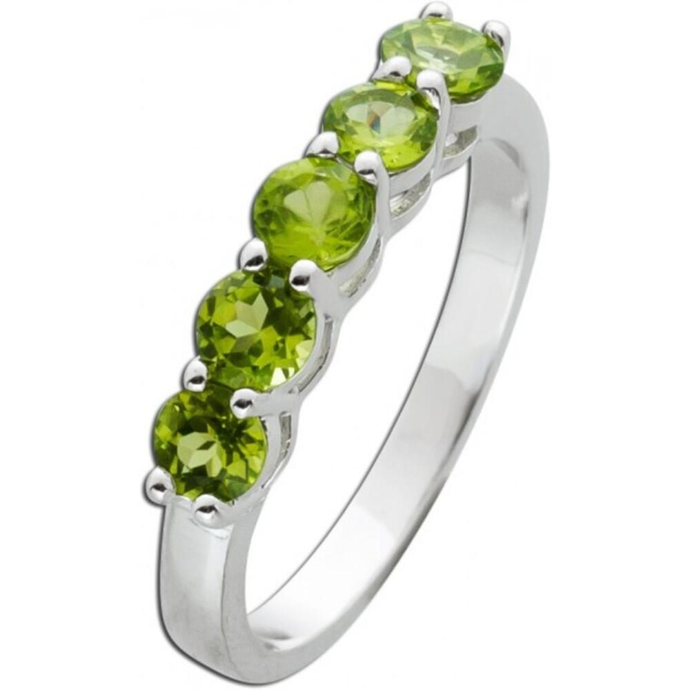 Edelstein Ring Silber 925 grüner Peridot 16-20mm_01