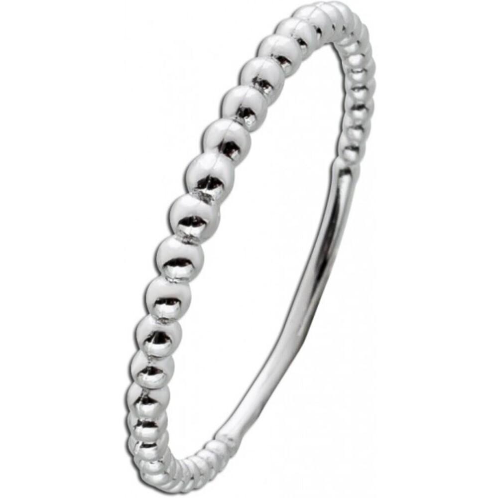 Kugel Ring Sterling Silber 925 Damen Schmuck